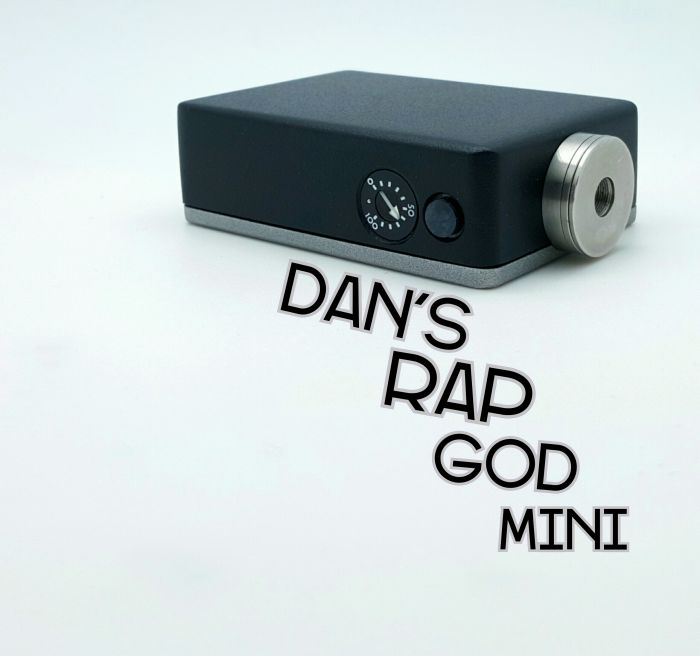 Dan's RapGod Mini, Black and Gunmetal Wrinkle