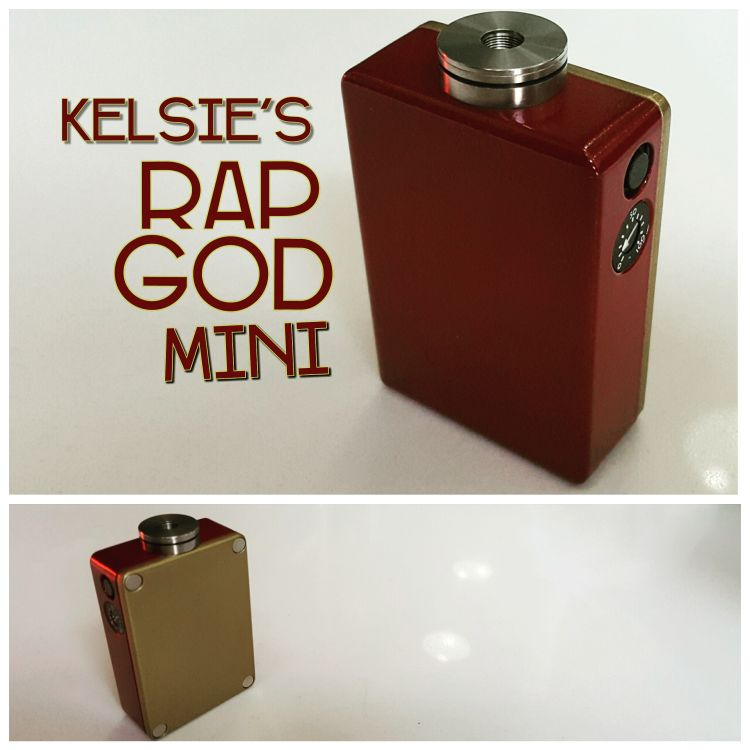 Kelsie's RapGod Mini, Ironman Red & Gold