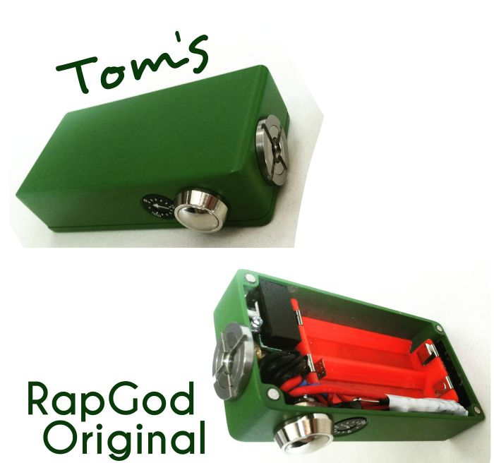 Tom's RapGod Original, Grinch Green