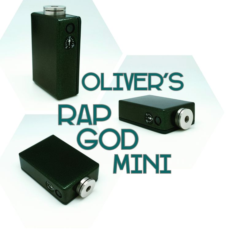 Oliver's Mini, Emerald and Aqua