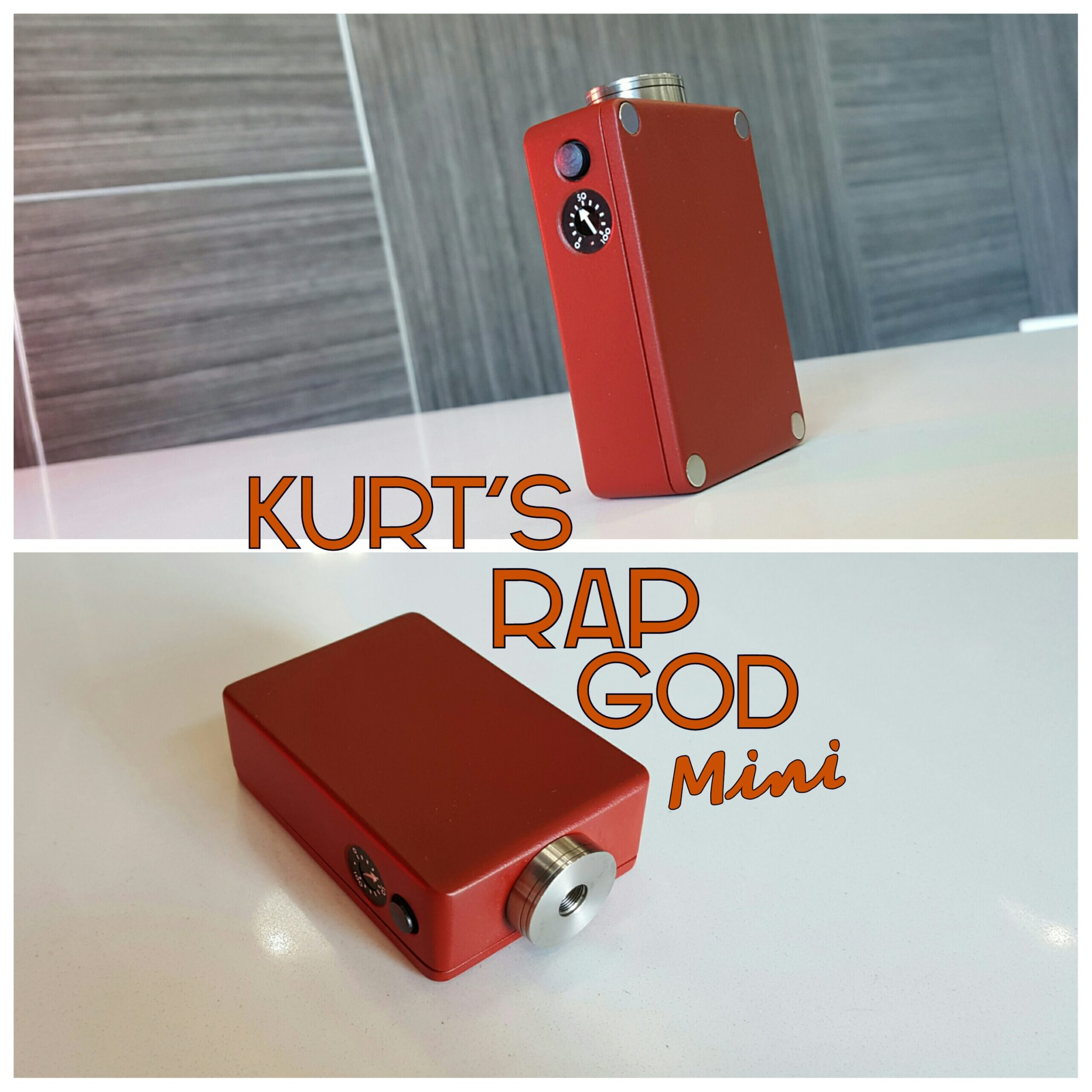 Kurt's RapGod Mini, Red Oxide